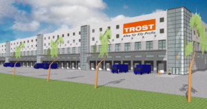 trost logistikzentrum